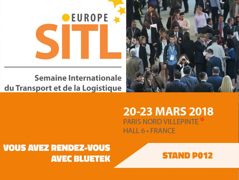 Congrès transport logistique bâtiment construction Villepinte Bluetek SITL lanterneaux froid positif Bluesteel Adiabox Cooléa