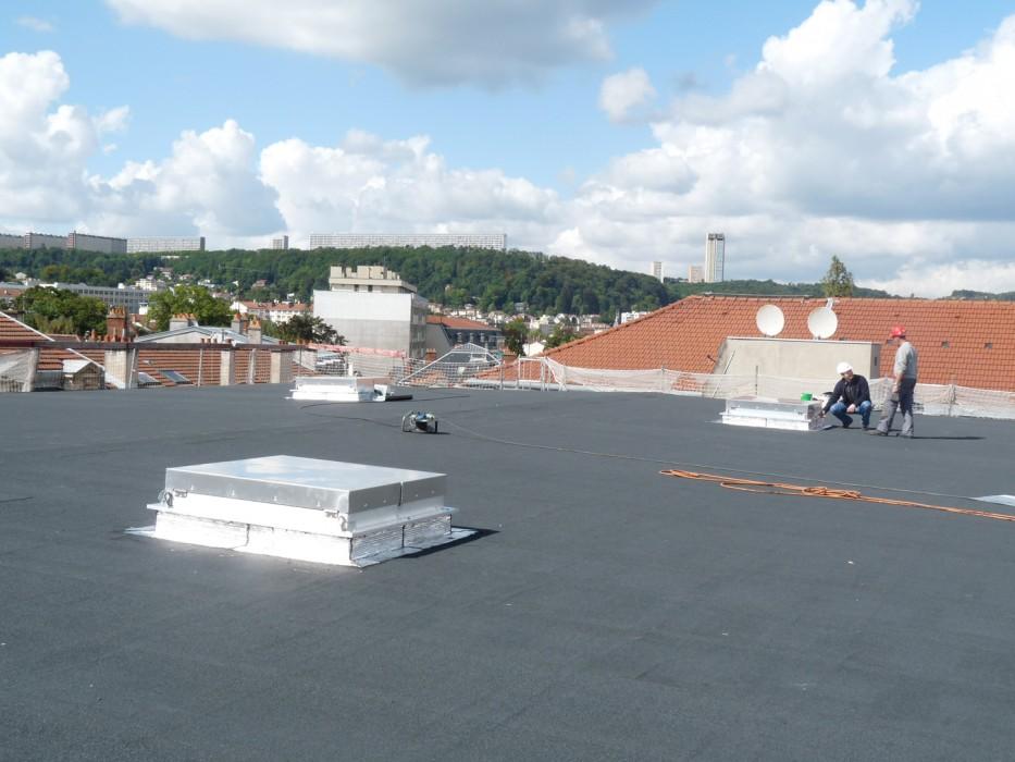 Un capot aluminium avec isolation acoustique pour la Faculté de Droit de Nancy