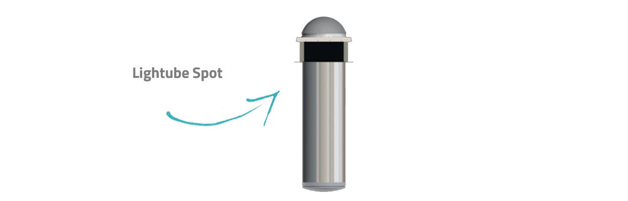Conduit de lumière naturelle Lightube Spot