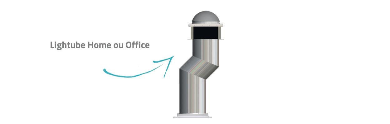Conduit de lumière Lightube Home ou Office