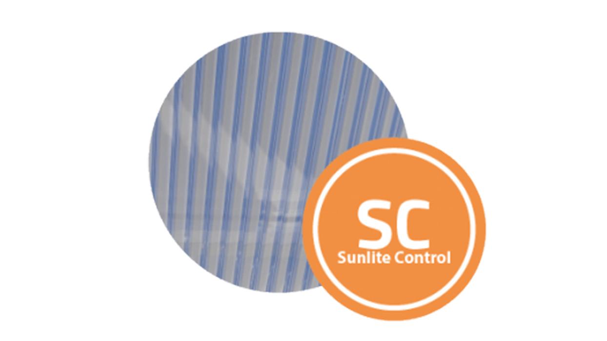 Sunlite Control, une solution performante d'ombrage piloté pour lanterneaux et DENFC Bluetek