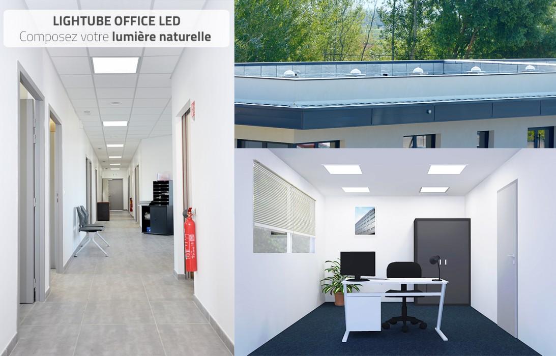 Lightube Office LED : le nouveau conduit de lumière naturelle