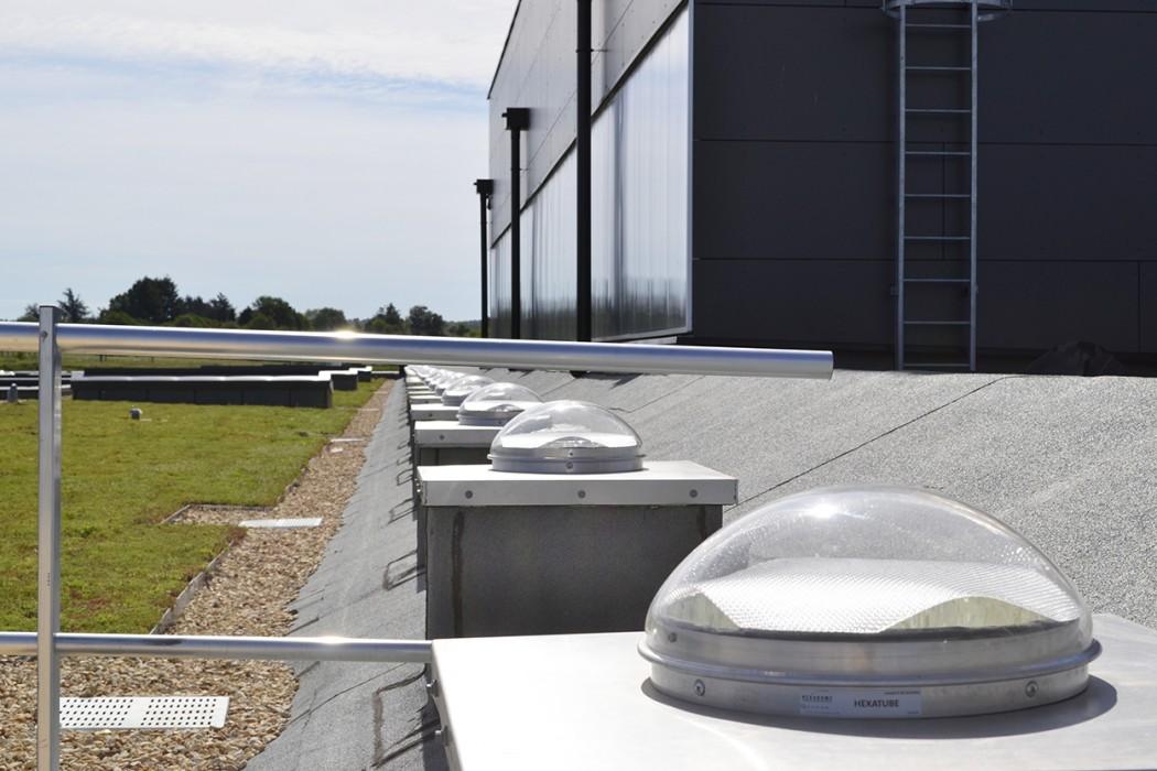 Lightube en toiture d'un ECO CFA (Chasseneuil-sur-Bonnieure dépt 16)