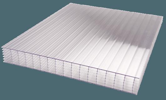 PCA polycarbonate alvéolaire incolore Bluetek