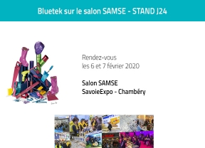 Bluetek sur le Salon Samse