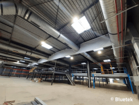 Rénovation, lanterneaux, asservissement et écran de cantonnement