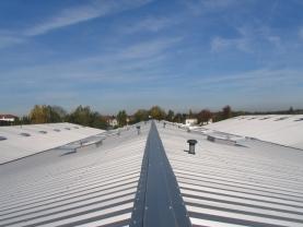 Rénovation toiture transports Gondrand