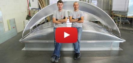 Vidéo montage Bluevoûte et Voile-Dôme