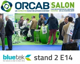 Bluetek sur le salon Orcab 2019