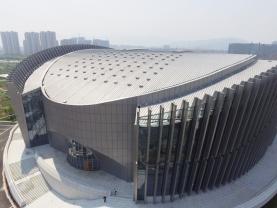 Lightube et Bluevoûte Therm sur un gymnase en Chine