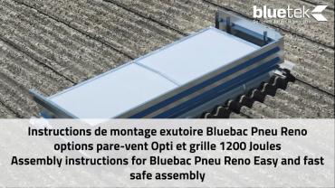 Le montage en vidéo Bluebac Pneu Réno