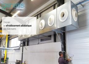 Une alternative à la climatisation : le refroidissement adiabatique