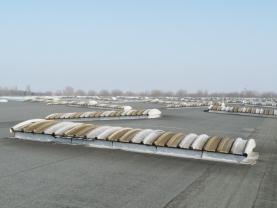 La centrale d'achats Leclerc (Scapalsace) équipée de voûtes pour sa rénovation