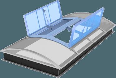 Module de désenfumage pneumatique - Exuplus pneu