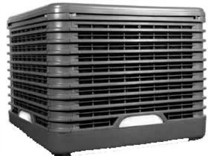 Rafraîchissement d'air automatisé avec ventilateur - Adiabox WFP 16000