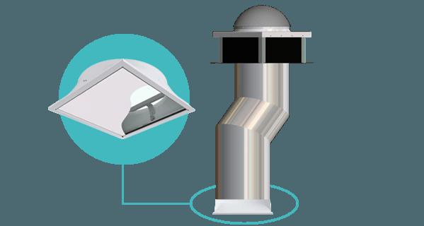 Conduit de lumière - Lightube Office LED